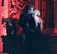 avril lavigne black wedding dress and the wore black avril lavigne says i do for a second
