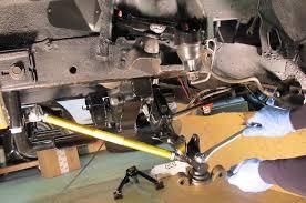 qa1 mustang k member project slick challenger qa1 suspension upgrade rod