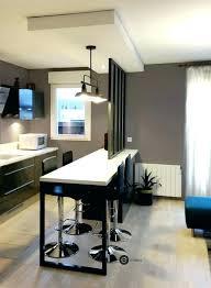 bar separation cuisine meuble separation cuisine salon comptoir separation cuisine salon