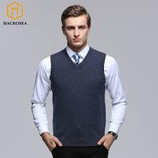 sweater vest macrosea 100 merino wool geometric dot pattern formal casual