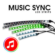 Wireless Led Strip Lights by Rgb 6 Led Strip Kit With Wireless Rf Remote And Music Genssi Led