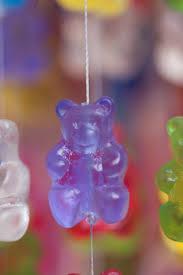 Bear Chandelier Art Sculpture Colorful Interior Design Color Gummy Light Fixture