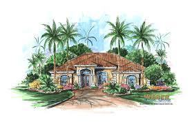 one story mediterranean house plans mediterranean house plan story luxury home plans small single