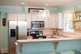 Painted Islands For Kitchens Kitchen Furniture Teal Kitchen Island Fearsome Pictures Ideas