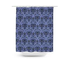 haunted mansion home decor haunted mansion wallpaper shower curtain rainbow rules