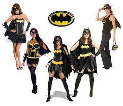 Batgirl Halloween Costumes Batman Superhero Batgirl Ladies Fancy Dress Hen Party