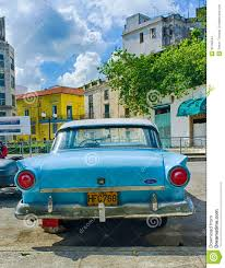 old ford cars old ford car cuba editorial stock image image 35706544