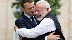 chambre de commerce franco indienne emmanuel macron en inde déclaration conjointe franco indienne
