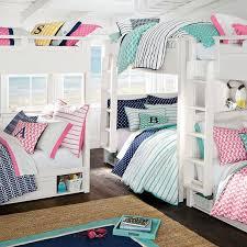 Bunk Bed Bedroom Hton Bunk Bed Pbteen