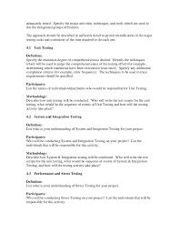 sample test plan template pdf