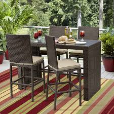 Patio High Dining Set - ty pennington parkside 5pc high dining set shop your way online