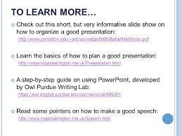 how to make a good speech presentation how to make a good speech
