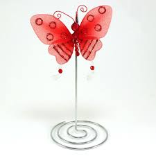 maple craft glitter butterfly place card holders 7