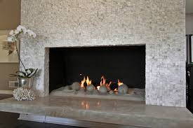 Mosaic Tile Fireplace Surround by Sugar Cube Mosaic Fireplace Contemporary Living Room Los