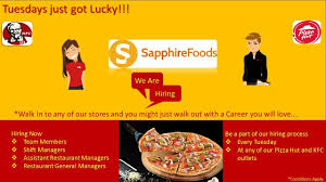 Assistant Restaurant Manager Duties And Responsibilities Sapphire Foods India Pvt Ltd Linkedin