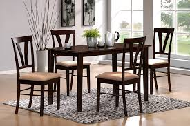 tuscan dining rooms amazon com 5pc tuscan dining set espresso table u0026 chair sets