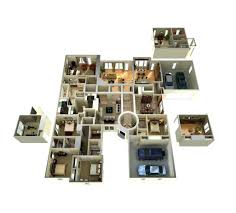 d home plan drawing with traditional style house floor and 3d 33d