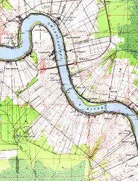 louisiana elevation map exles of topographic maps