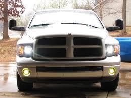 Dodge Ram Yellow - brightest yellow fog lights dodgetalk dodge car