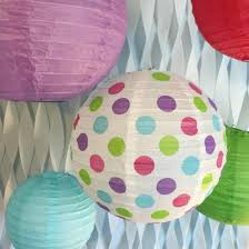 amazon com bobee paper lanterns for birthday party baby bridal