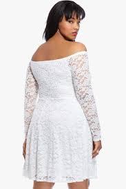 size rumour off shoulder lace dress