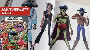 jamie hewlett artbook taschen youtube