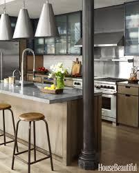 kitchen white mosaic tile kitchen backsplash hood with curved gray