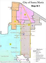 santa map santa chooses official district map santa sun ca