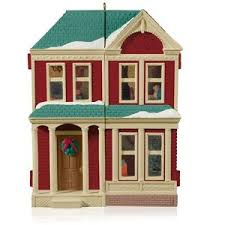 2014 dollhouse repaint hallmark keepsake ornament