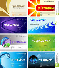 visiting card design royalty free stock photos image 22664608