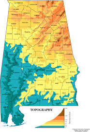 Topographic Map Of Ohio by Maps Of Alabama Classbrain U0027s State Reports State Symbols 50
