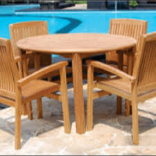 Teak Table And Chairs For Sale by Outdoor Teak Furniture Table And 4 Chairs 599 Free Delivery