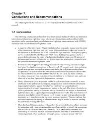 chapter 7 conclusions and recommendations design guidance for