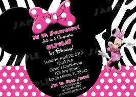 minnie mouse zebra invitation template u2013 orderecigsjuice info