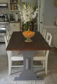 Farm House Tables Restaining A Farmhouse Table Hometalk