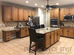what to do with brown kitchen cabinets white dove and urbane bronze painted cabinets evolution of