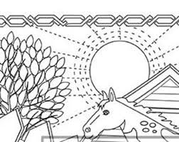 pages to color animals animal farm pages etsy