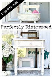 Home Decor Tips And Tricks Tips For Distressing Painted Furniture And Home Decor