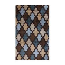 Brown Area Rug Mohawk Home Accessories Ikat Brown And Blue Area Rug