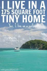 sailboat home decor living on a sailboat 175 square foot tiny home sailboat living