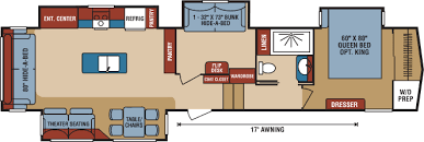 durango 5th wheel floor plans 2017 durango 2500 full profile luxury fifth wheel floorplans