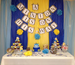 minion baby shower it was so getting creative with the minion