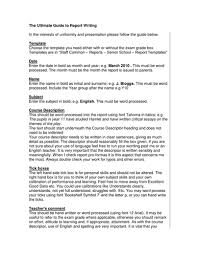 report template report writing and templates by annsp teaching resources tes