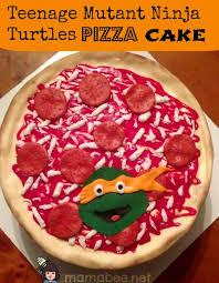 tmnt cake mutant turtles pizza cake a blender