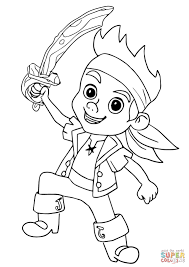 unique jake neverland pirates coloring pages print 25
