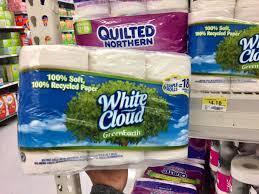 White Cloud Bathroom Tissue - walmart shoppers white cloud bath tissue 6 triple rolls only