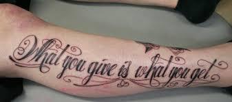 inspiring tattoo lettering design examples designinstance