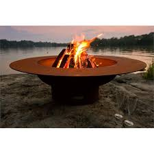 Burning Pit Of Fire - winston 48 in wood burning round fire pit hayneedle