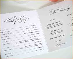 wedding ceremony programs wording 8 wedding ceremony programs formal letter