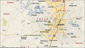 Map Of Austin Texas by Map It